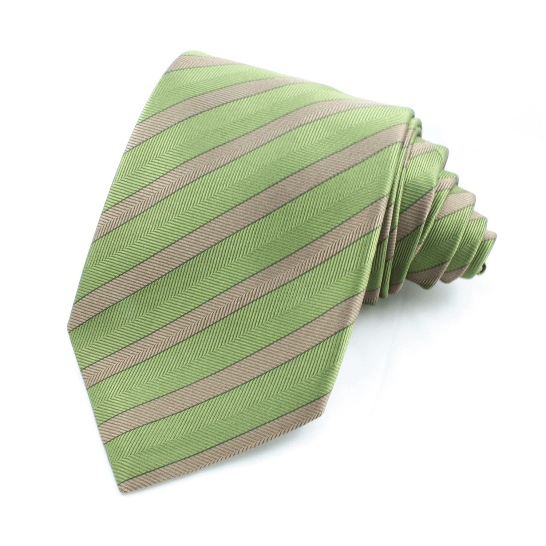 Slips randig, grön-brun – Atlas Design (ATD-01-0006)
