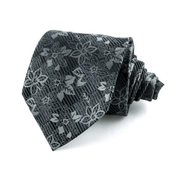 Slips blommig, svart-grå (NON-01-0009)