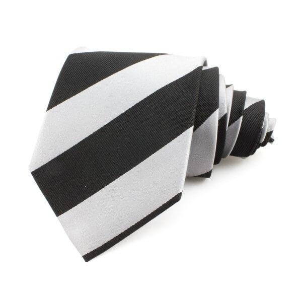 Slips randig, svart-grå - Atlas Design (ATD-01-0001)