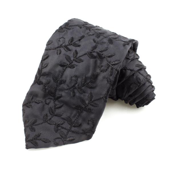 Slips blommig, svart – Atlas Design (ATD-01-0003)