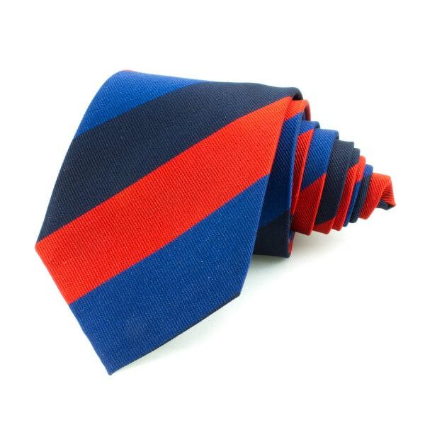 Slips randig, blå-röd-svart (NON-01-0004)